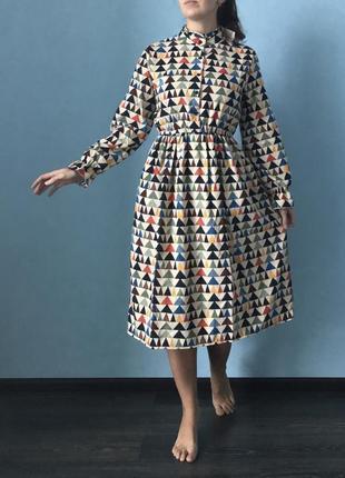 Вельветовое платье3 фото