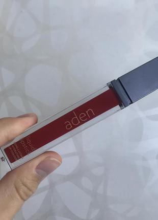 Матовая губная помада аден aden италия оригинал оттенок номер 14 berry4 фото