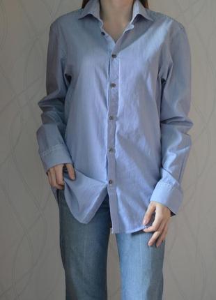 Рубашка в полоску свободного кроя river island сорочка в полоску вільного крою