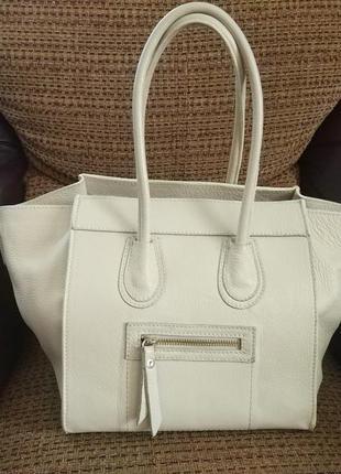 Стильная сумочка celine итальянская коллекция кожа натуральная