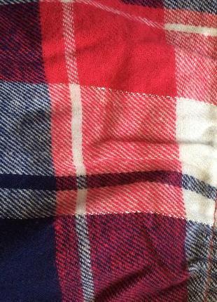Пижама домашний костюм с байковыми штанами, размер 130, 140 финляндия7 фото