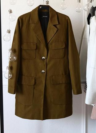 Льняное пальто zara4 фото
