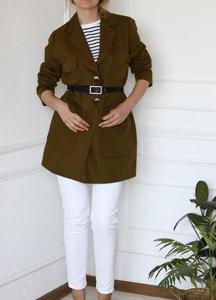Льняное пальто zara8 фото