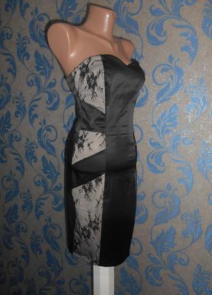 Платье бюстье на вечер