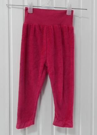 Велюровые штаны-лосины для девочки lupilu