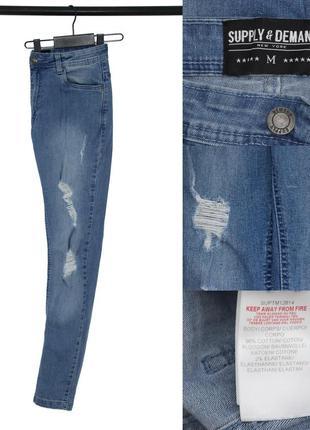 Мужские зауженные джинсы supply&demand