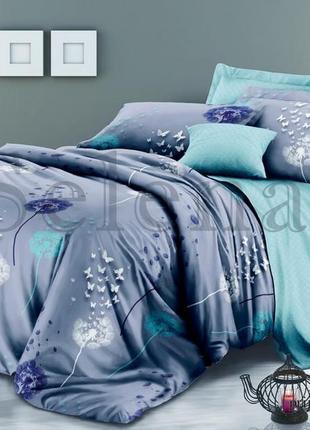 Постельное белье одуванчики и  бабочки
