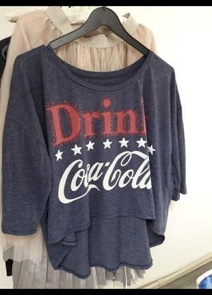 Кофта кока-кола