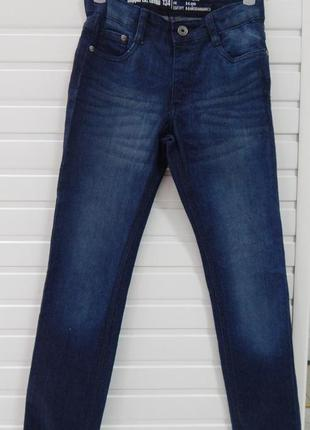 Подростковые стильные синие джинсы на девочку pepperts