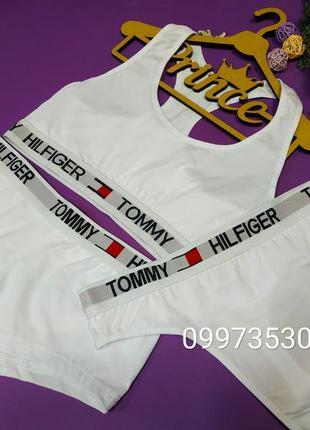 Комплект білизни tommi hilfiger2 фото