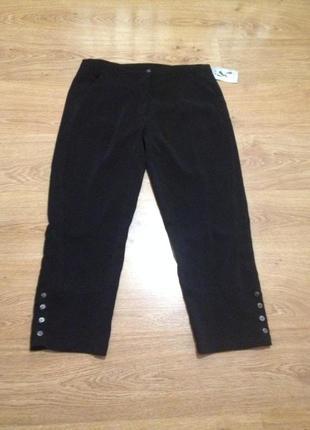 Стильные капри брюки / 16 / xl1 фото