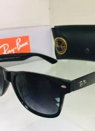 Очки в стиле ray ban. очки. солнцезащитные очки. очки в стиле wayfarer 2140. очки градиент