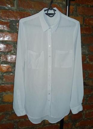 Удлиненная блузка рубашка кофточка new look