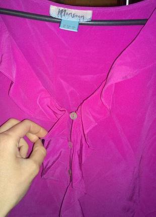 Обновка каждый день! блуза кофточка из натурального шелка monsoon3