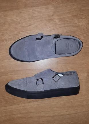 Стильные замшевые туфли green coast(испания)