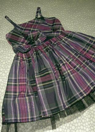 Красивое платье-сарафан 4-5 лет