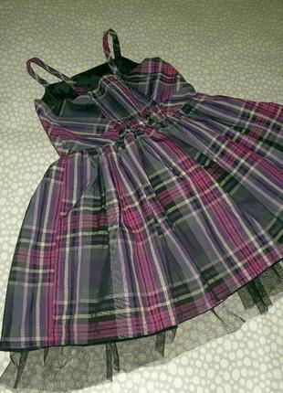 Красивое платье-сарафан 4-5 лет4 фото