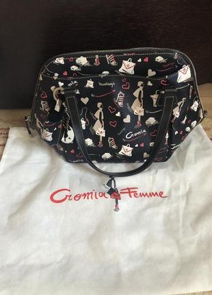 Новая стильная сумка cromia  оригинал