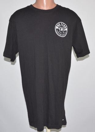 Брендовая,стильная футболка no fear (l) удлиненная.