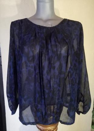 Шифоновая блуза1 фото