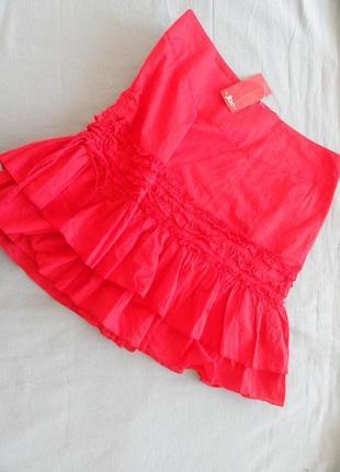 Красная юбка jbc 42(48 - 50)
