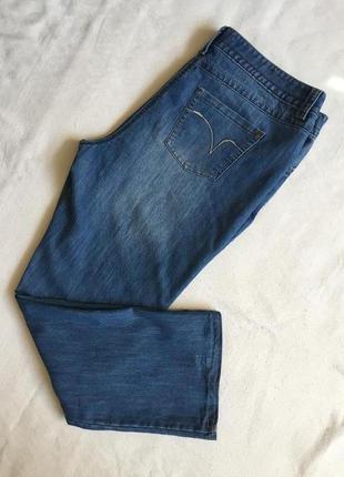 Супер джинсы жен стреч батал george раз 4xl(56)