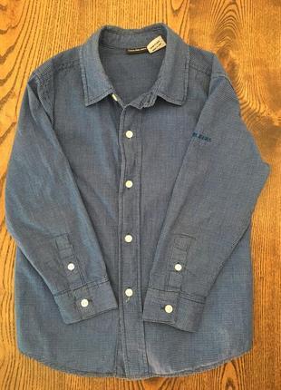 Клетчатая рубашка calvin klein 5-6