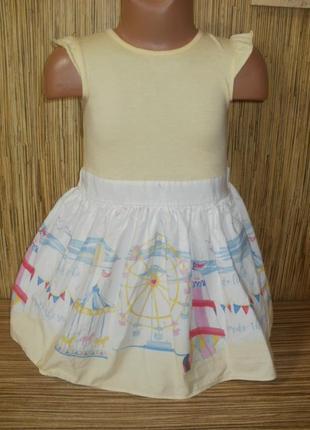 Платье летнее на 3-4 года