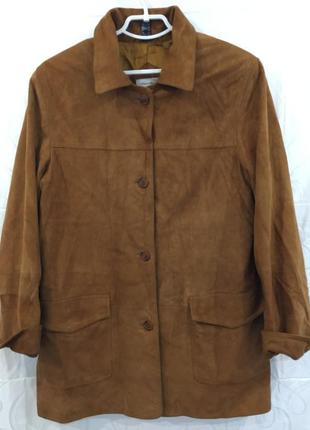 Кожаная куртка peter hahn