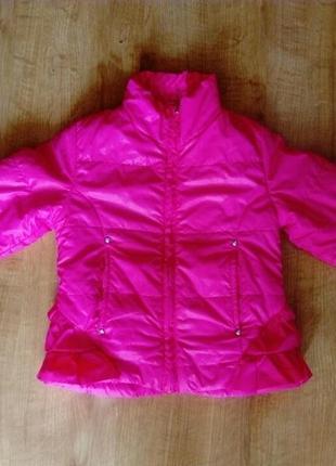 Куртка ветровка на флисе 2-3года