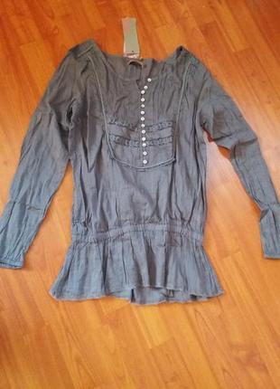 Блузка хлопковая saint tropez
