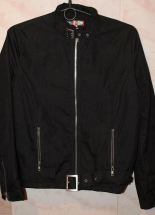 Куртка демисезонная, черная