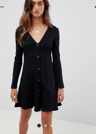 Черное платье asos