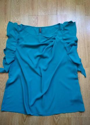 Красивая блузка naf-naf, р.38