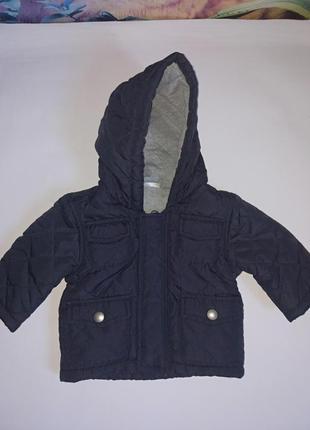 Демисезонная курточка на малыша 62 см,в идеале,f&f