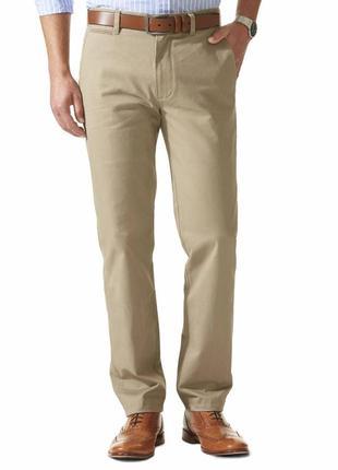 Легкие хлопковые брюки dockers обхват пояса 92