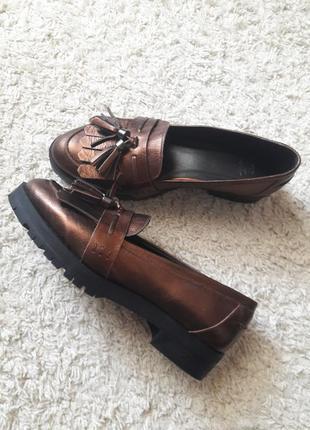 Туфли лоферы мокасины1 фото