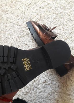 Туфли лоферы мокасины4 фото