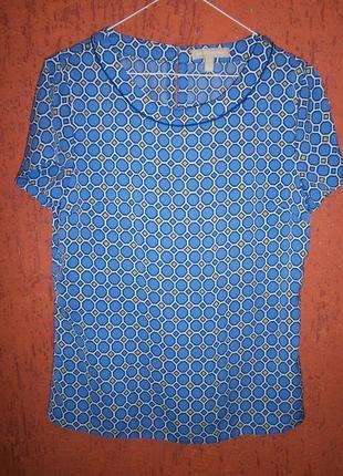 Красивая блуза коротким рукавом бренд