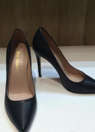 Туфли лодочки enzo angiolini, черные, р. 35.5