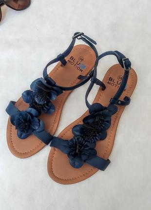 Босоножки сандалии blue motion шлепки вьетнамки