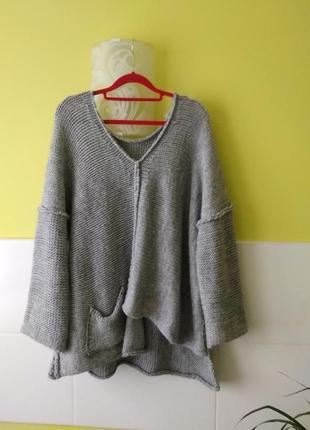 Шикарный свитер оверсайз италия