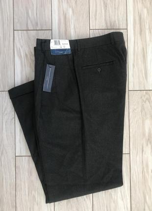 Брюки мужские, большой размер xl, черные мужские брюки1 фото