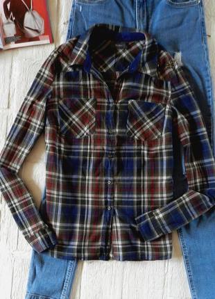 Распродажа!!!! постоянный тренд! рубашка в клеточку от