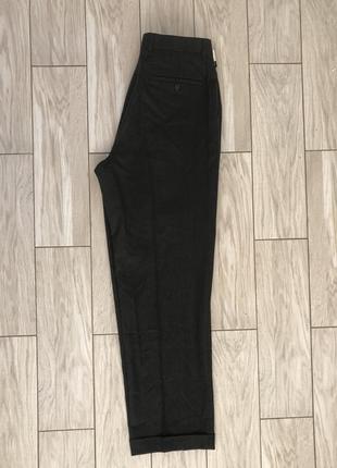 Брюки мужские, большой размер xl, черные мужские брюки2 фото