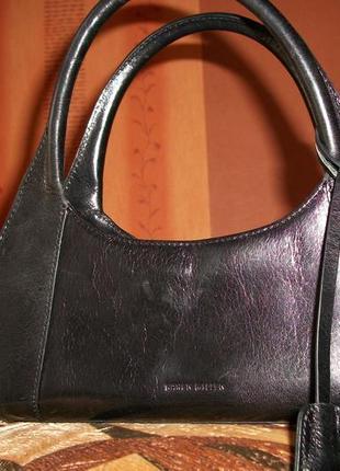 Маленькая сумочка из натуральной кожи от karen millen