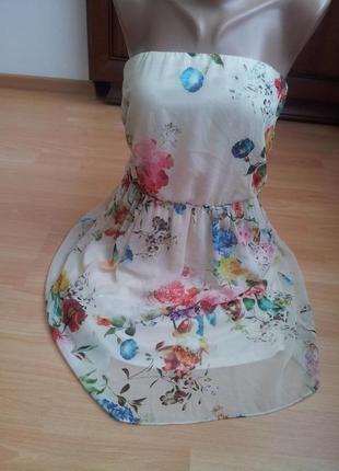 Нежное легкое платье zara