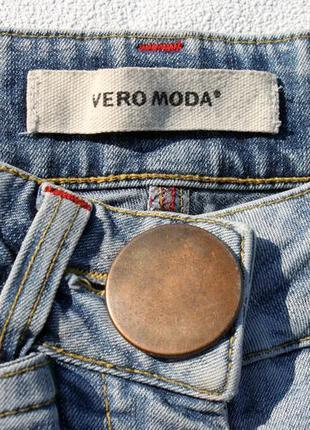 Джинсовые бриджи от vero moda
