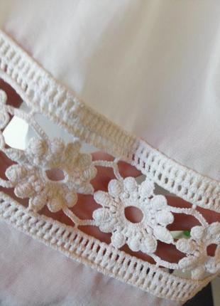 Красивая юбка на запах,цвет айвори2 фото