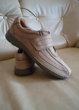 Кожаные мужские кроссовки dr jurgens германия р. 44 стелька 29